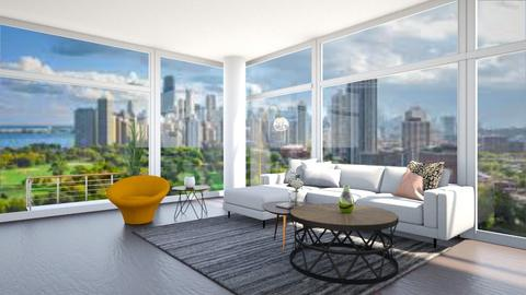 Chicago Apartment - Modern - Living room  - by Taehyungie