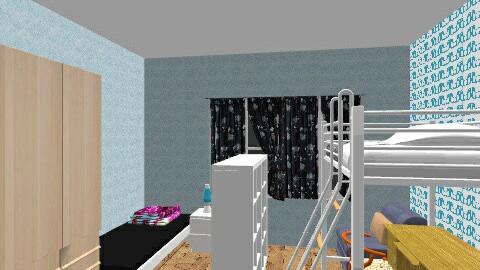 Barnrum med bred sang - Eclectic - Kids room  - by lappviken
