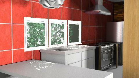casa MARINA 2 - Minimal - Kitchen  - by domuse