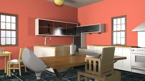 rety - Retro - Kitchen  - by lamin_agatha