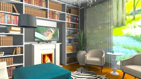 Ouo 1 - Classic - Living room - by dudous