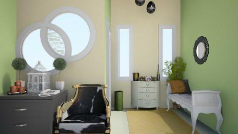 Lucky Charm_Part V - Minimal - Living room  - by Nurul Yunita Sari Ginting
