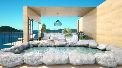 rooftop terrace - by Victoria_happy2021
