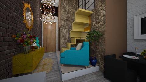 Living Room - Rustic - Living room  - by DesignBRLL