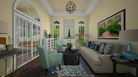 Sunny - Classic - Living room  - by PomBom
