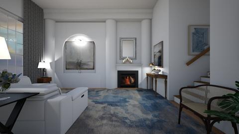 Serene Living Room - Minimal - Living room  - by PomBom