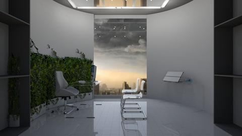 Blurry Office - Modern - Office  - by timeandplace