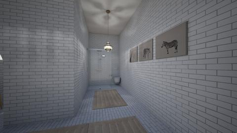 bathppart2 - Modern - Bathroom  - by deandesigns