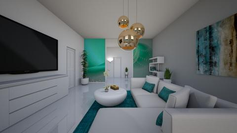 Minimal living room - Modern - by Audrey17