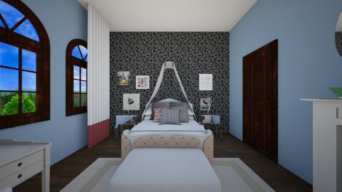 girly - Bedroom  - by marindekica22