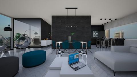 project - Modern - Living room  - by Zosia Zakrzowska