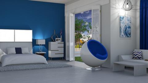 Modern Bedroom - Modern - Bedroom - by colorful life