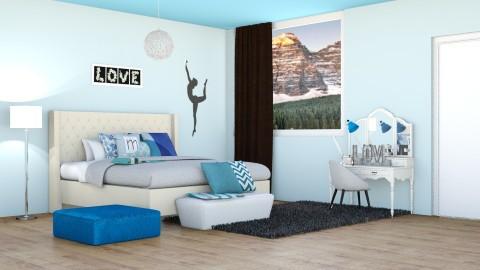 Teen room - Modern - Bedroom - by oliinree12