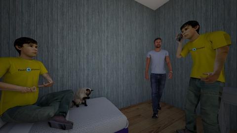 My bedroom - Bedroom  - by tommasotod290