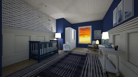 baby boys ocean - Kids room  - by graciecbogardus