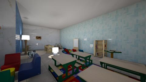 SCHOOL ROOM - Classic - Kids room  - by daniela109
