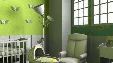 Lilu's nursery - Eclectic - Kids room  - by shelleycanuck