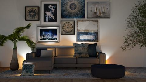 BLue - Modern - Living room  - by ilikalle