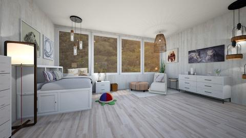 cozy space - Kids room - by graziapiana123