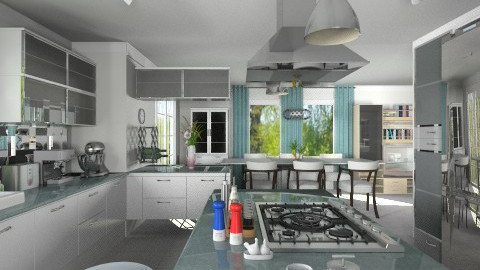 Bo Concept2 - Modern - Kitchen  - by Bibiche