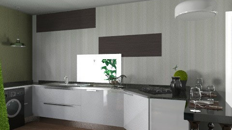 AGAVE 02 plus - Glamour - Kitchen  - by domuseinterior
