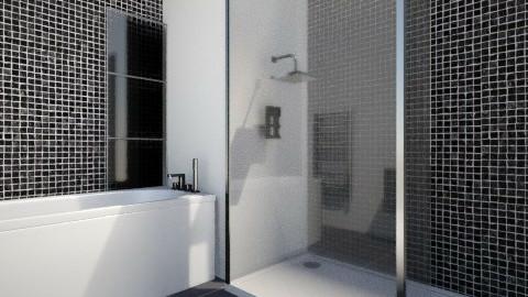 Small bathroom - Modern - Bathroom  - by Bednna