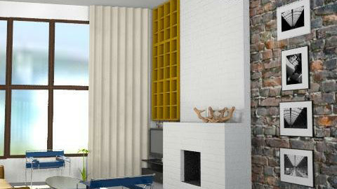 warehouse apartment conversion - Minimal - by ezamko