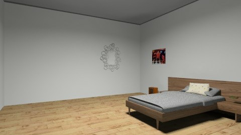 bedroom1 - Retro - Bedroom  - by hannahbannamontana