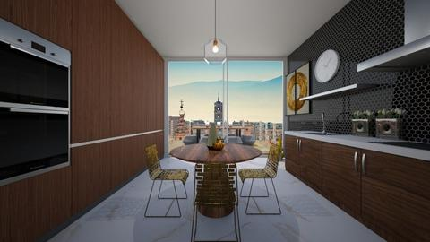 retro kitchen - Kitchen - by pinop