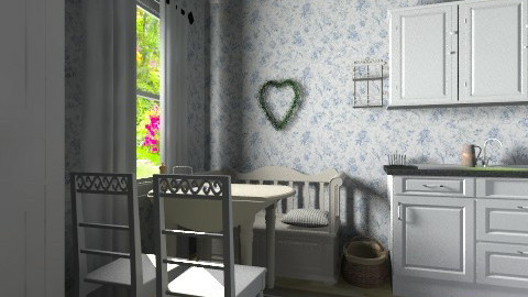 Little country kitchen - Country - Kitchen  - by Tuija
