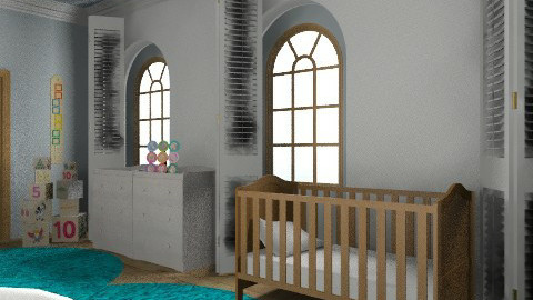Baby Boy's Nursery - Classic - Kids room  - by Mappede