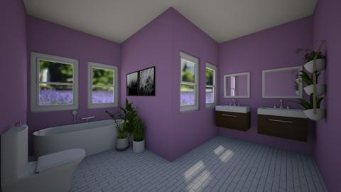 Lavender Fields Bathroom - Bathroom - by house17