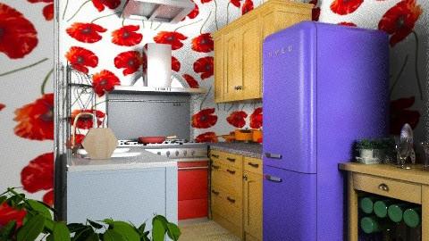 Rae's Kitchen - Retro - Kitchen  - by Simply Dexterous