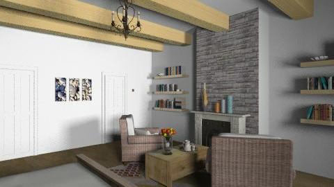 rustic3 - Rustic - Bedroom  - by Bubamara