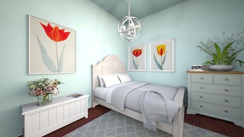 floral bedroom - Classic - Bedroom - by Adrianna 808
