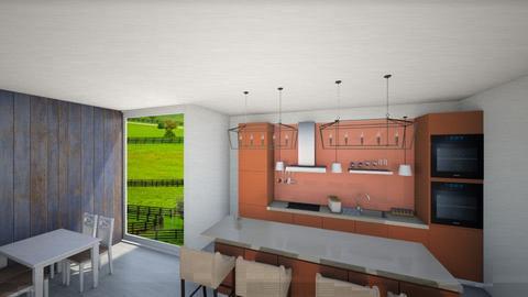 Modern farmhouse Kitchen - Country - Kitchen  - by I am Unicorn