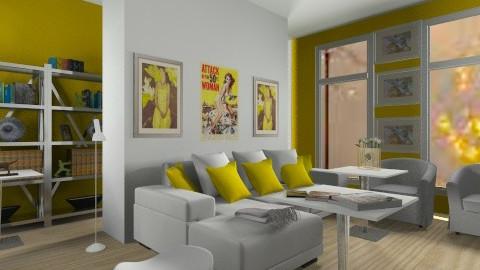 Yellow-white - by Anna_tchaikvskaja