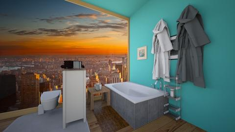 New York City Morning - Bathroom  - by PeGaSuSe