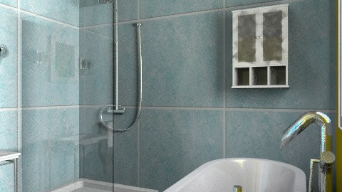 bijou bath - Eclectic - Bathroom  - by mrschicken