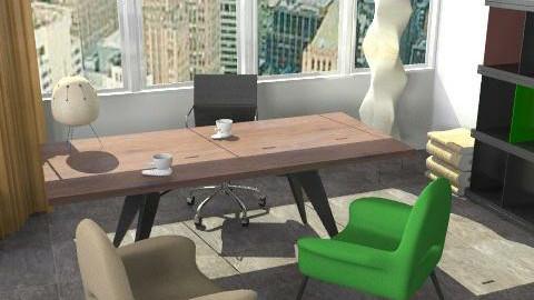 Manhattan office - Modern - Office  - by richardsbm