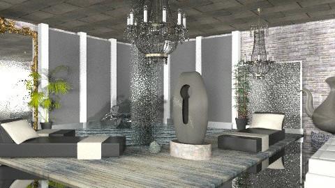 aguas termales - Rustic - Living room  - by ATELOIV87