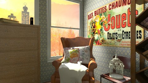 Vintage sunset - Country - Living room  - by hetregent