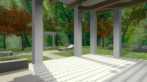 spanish villa - Classic - by emily55