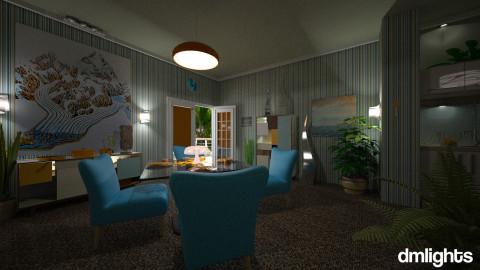 Guyha - Retro - Dining room  - by LucretiaC