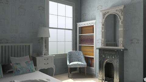 Bleu Dreams - Glamour - Bedroom  - by Lisett