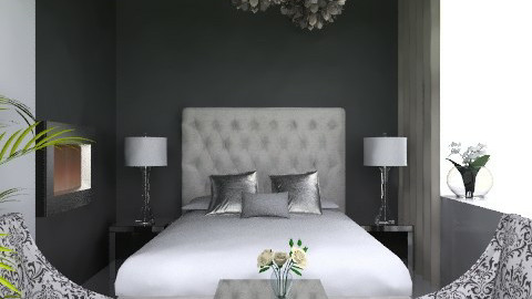 3x3 Luxury Sleep - Glamour - Bedroom  - by channing4