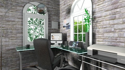 Work at home - Modern - Office - by Mger Sargsyan