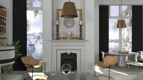 Blaue - Eclectic - Living room  - by du321