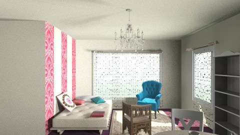 New Apmt - Global - Living room - by Samdeco77