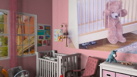 Baby's - Feminine - Kids room  - by sasalex88